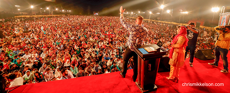 157,600 Salvations Near The Middle East!   Crusade Update