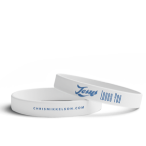 Jesus Loves You Wristband