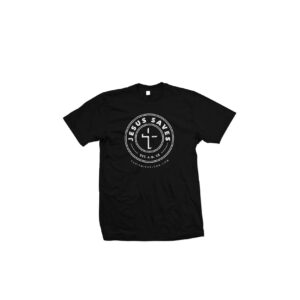 The Jesus Saves T-Shirt! (Black)
