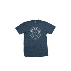 The Jesus Saves T-Shirt! (Blue)