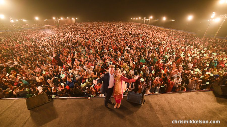 Miraculous Crusade Tonight In Pakistan! Harvest Time Is Now!